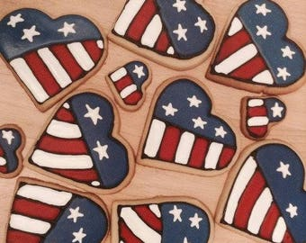 Flag/Patriotic Sugar Cookies