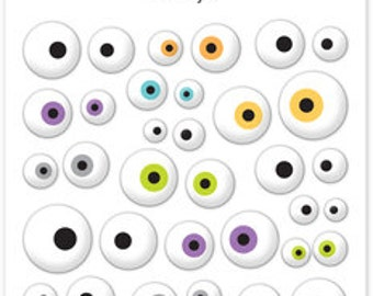 Boos & Brews Eerie Eye Sprinkles - Doodlebug