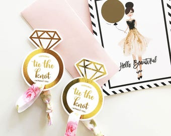 Bridesmaid Hair Ties To Have and to Hold Your Hair Back Hair Tie Cards Hair Tie Favors Bridesmaid Favors Bridesmaid Proposal Bridesmaid Box