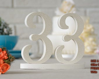 Glitter Table Number for Weddings, Table Number, Wedding Table Decor, Wedding Reception Table, 10 table numbers