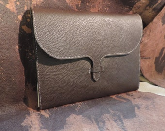 Leather Journal- Fits I-Pad. Handmade in Kentucky USA
