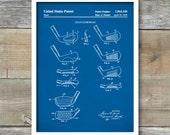 Golf Poster, Golf Art, Golf Club Poster, Golf Wall Art, Historical Golf Poster, Patent Print, Patent Poster, Golf Lover, Golf Clubs, P432
