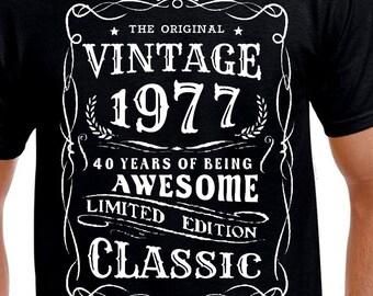 40. Geburtstag Geschenk T Shirt Für Bruder Sohn Onkel Freund Chef Drehen 40  Lustige