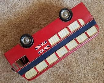 British Bus; Red Double Decker; Metal