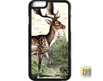 Galaxy S8 Case, S8 Plus Case, Galaxy S7 Case, Galaxy S7 Edge Case, Galaxy Note 5 Case, Galaxy S6 Case - Vintage Deer