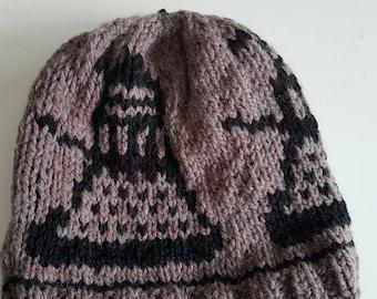 Handmade Dalek Dr Who inspired knit hat