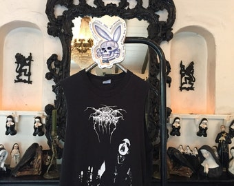 Darkthrone shirt Vintage Original 1990s Black Metal band t shirt 90s 1994 Norwegian Metal t-shirt Mayhem Burzum Emperor