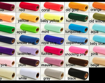 Sample of tulle color