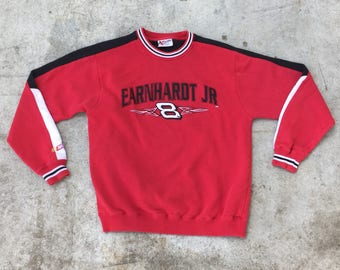 Dale Earnhardt Jr. Bud Racing Nascar Sweatshirt Size Medium
