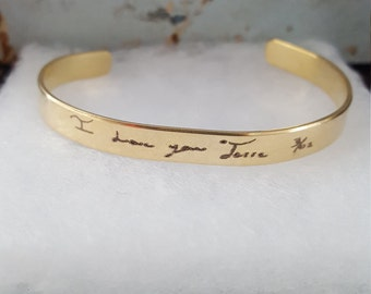 Custom Handwriting Jewelry | Custom Not Bracelet | Handwriting Jewelry | Signature Jewelry