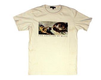 """Creation of Music"" t-shirt"