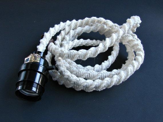 Like this item? & Rustic lighting Pendant light Macrame light fixture Modern azcodes.com