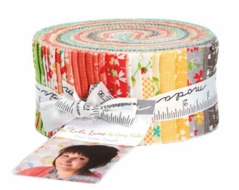 Lulu Lane Jelly Roll - Corey Yoder - Coriander Quilts - Moda Fabrics - Precuts - IN STOCK