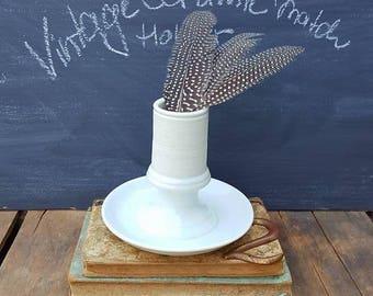 Vintage Ceramic Pyrogene Match Strike, Tobacciana, Bistro Ash Tray