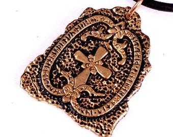 Runestone-Amulet in the Style of the Vikings - [0 RunSt]
