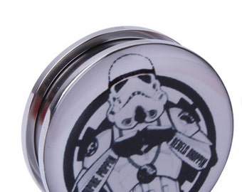 """Storm trooper star wars inspired """"Empire poppin, rebels Droppin""""  MM 6, 8 12, 14, 16, 18, 20, 22, 24, 26, 28 MM"""