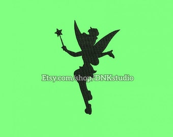 Disney Tinkerbell Machine Embroidery Design - 6 Sizes - INSTANT DOWNLOAD