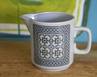 Vintage Retro Hornsea Tapestry Milk Jug