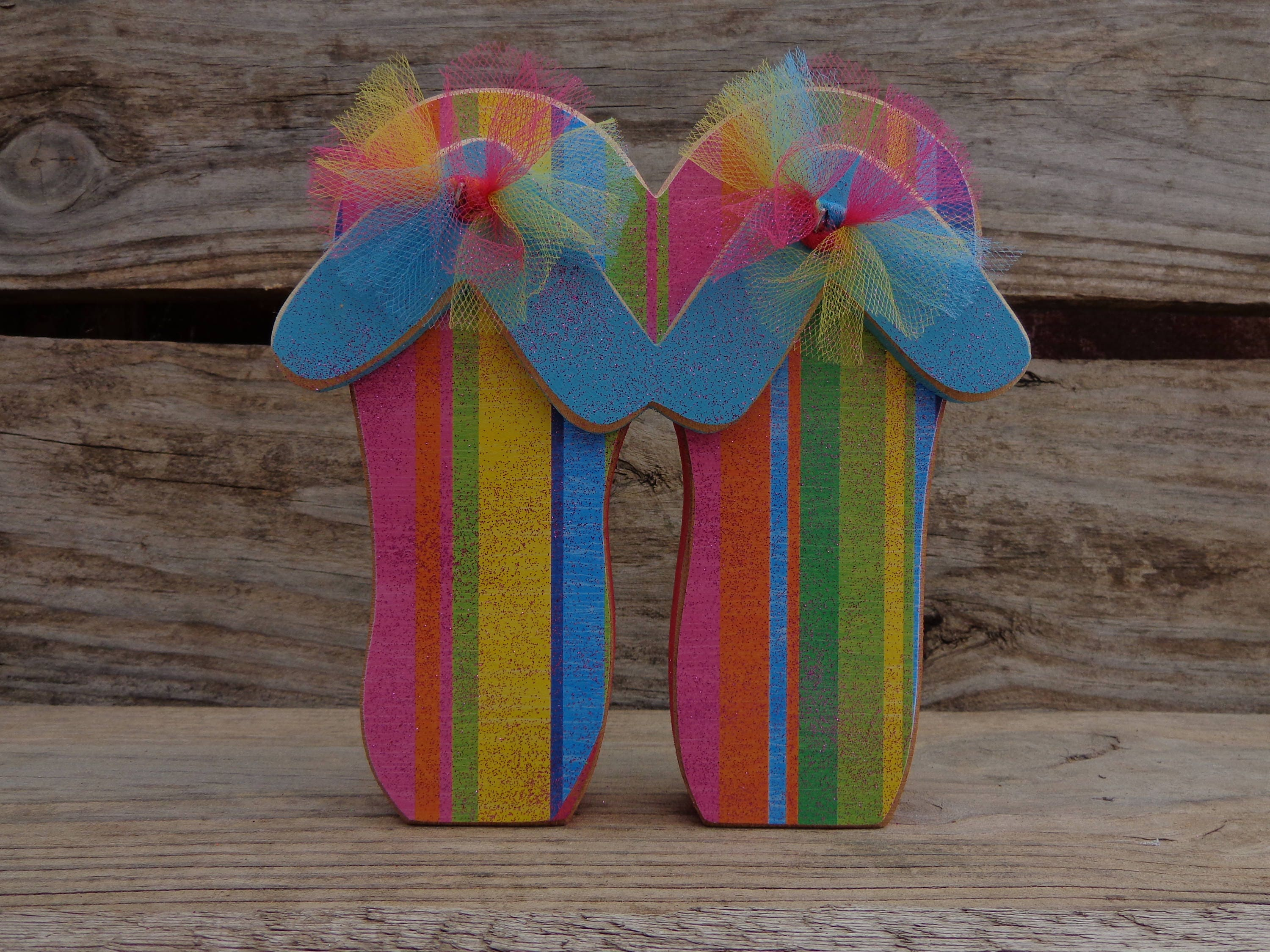 Beach decor summer decor beach house decor flip flop for Summer beach decor
