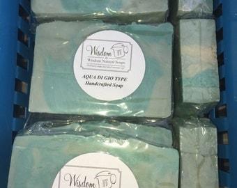 AQUA DI GIO  Handcrafted Soap