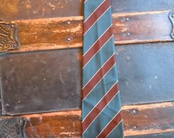 Gorgeous Silk 1950s English Rockabllly Tie