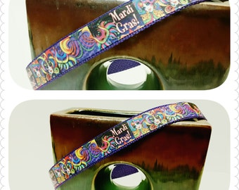 Mardi Gras Dog Collar, Pet Collar