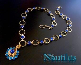 Nautilus Wirework Necklace