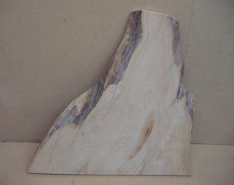 Cypress knee slab with great shape and color.