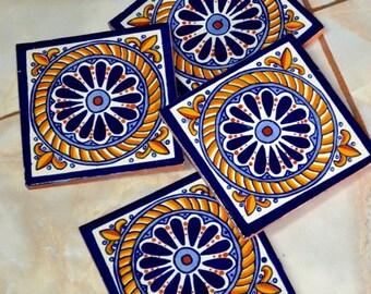 40 Mexican Tiles  6x6 or 90 Talavera tiles 4x4