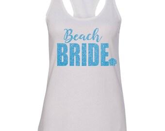 Beach Bride Bachelorette Tank