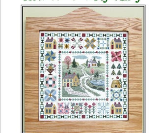 How Green Is My Valley, Cross Stitch Kit