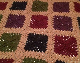 Granny Country Square Blanket