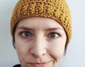 Yellow Bun Hat