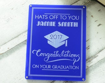 Graduation Personalised Sign