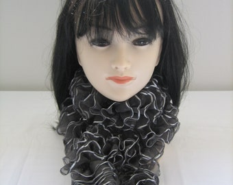 Ribbon satin ribbon scarf scarf