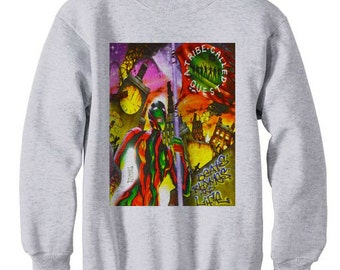 a tribe called quest beats and rhymes marauders atcq wu tang instinct low end - fleece sweatshirt sweater grey