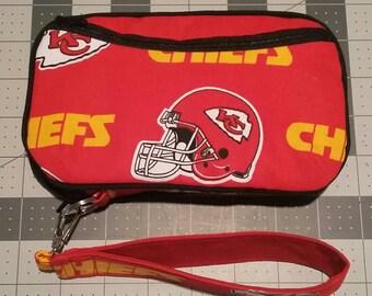 KC Royals Wallet / KC Chiefs Wristlet / NFL Wristlet / Mlb Wristlet