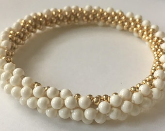 Kumihimo Seamless Pearls Tutorial.................