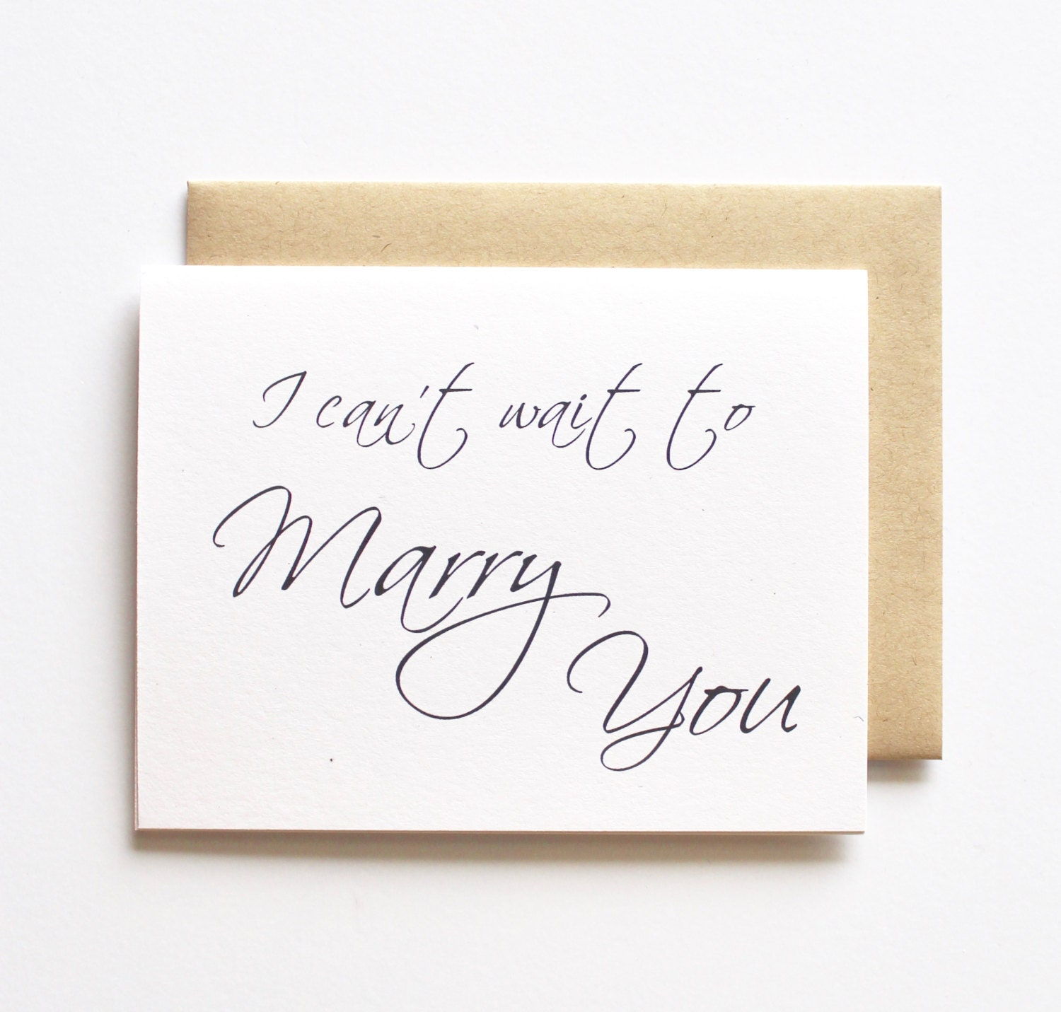Wedding day cards for each other i can t wait to marry you wedding day - Request A Custom Order And Have Something Made Just For You