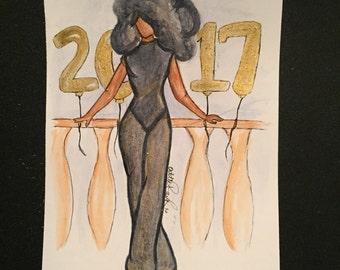 New Year's Night prints