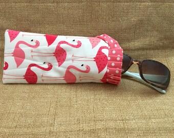 Quilted Sunglass Pouch - Eyeglass Pouch - Sunglass Case - Eyeglass Case