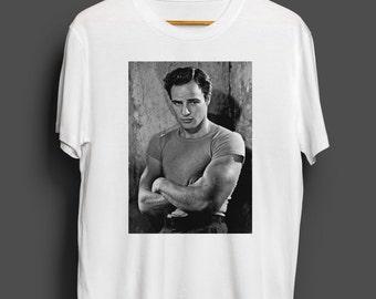"Marlon Brando ""Stanley Kowalski"" men's tshirt"