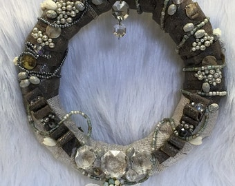 PRISM...a GENUINE CRYSTAL wreath you will treasure!