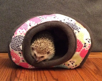 Hide, Grey Rainbow Hedgehogs, for hedgehogs, guinea pigs, rats and other small animals