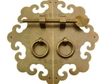 a set of brass pullcabinet drawer pullkitchen drawer pulls
