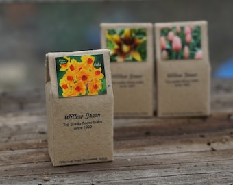 Dolls House Miniature Bag of Garden Bulbs