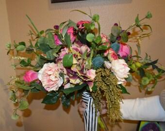Garden Bouquet, Bohemian Bouquet, Fresh Garden Bouquet,