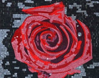 Red Flower Marble Mosaic Gallery