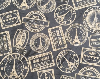 Destination Paris by Whistler Studios for Windham Fabrics French Labels and Stamps