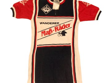 70's vintage Deadstock vintage cycle jersey made in Italy